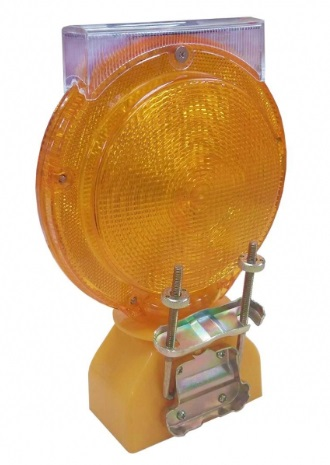 Solar Flashing Warning Lamp